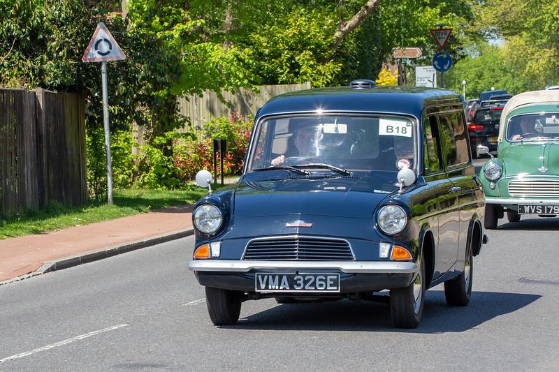 VMA326E 1967 Ford Anglia 307E