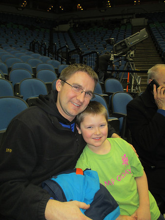 Timberwolves Game w/Ronny