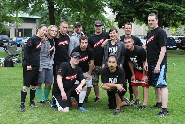 Summer Wednesday Kickball Teams 2011