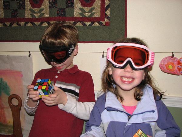 Kids Get Ready for Skiing - 2/12/11