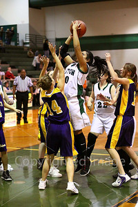 Girls vs. Hallsville, Dec. 9, 2008