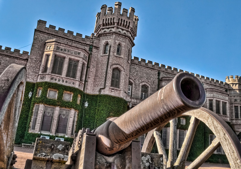 Canon and Turrets-Maharajas Palace-Bangalore-India.jpg