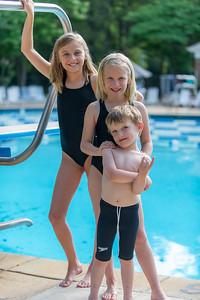 2014 Sardis Forest Swim Team