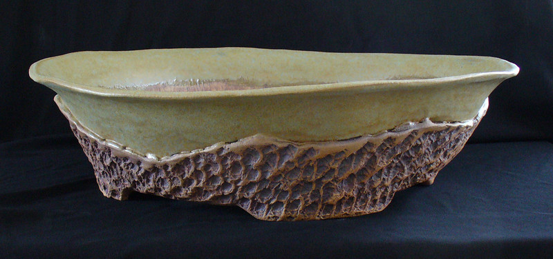 """#347 16"""" round, 4 1/4"""" deep, 5"""" tall   ***SOLD***"""