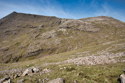 Scafell and Scafell Pike with Paul