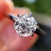 .61ct Old European Cut Diamond Vintage Solitaire, by Tiffany & Co  GIA F VS2 12