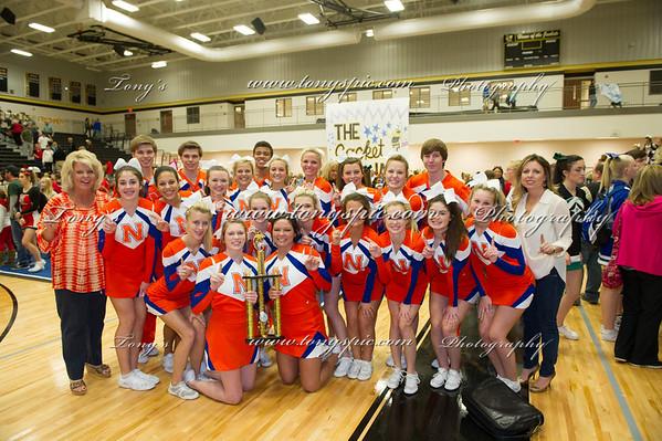 Cheerleaders @ Calhoun 18 Oct 2014