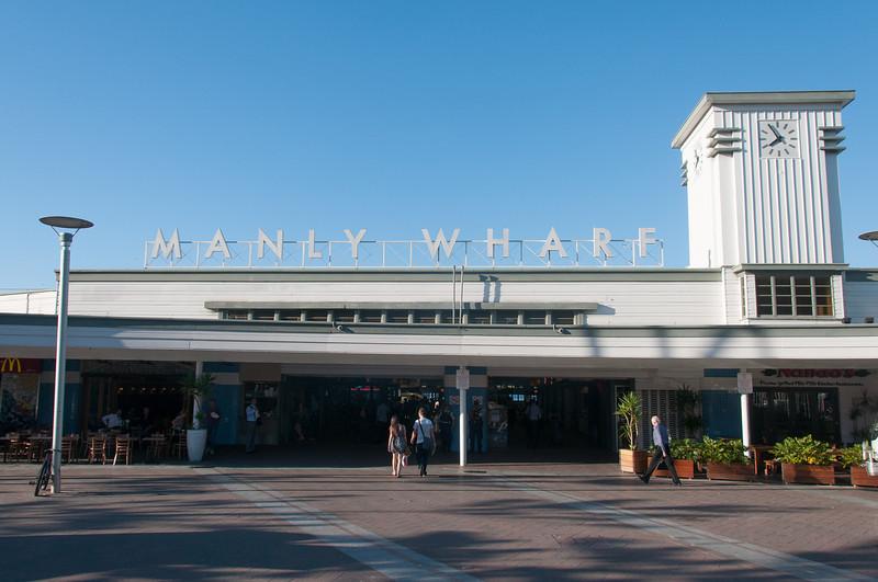 Manly Wharf in Sydney, Australia