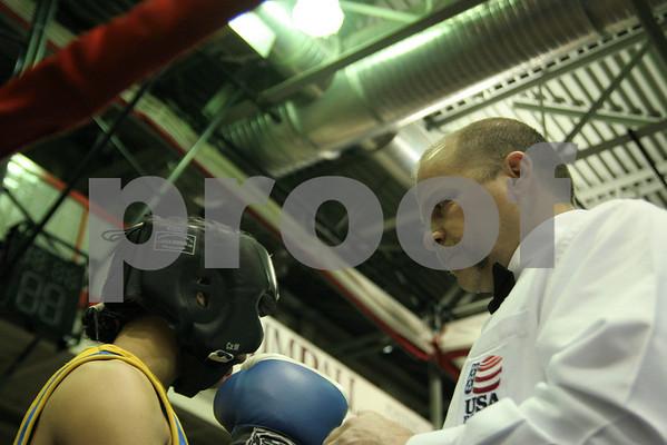 Golden Gloves Boxing; March 18, 11 Buffalo, NY
