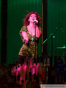 Marina & The Diamonds performing at the Book & Stage within The Cosmopolitan of Las Vegas on April 8, 2011.  (Photo by Benjamin Padgett)