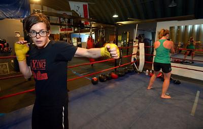 Sarah's Class at Front Range Boxing