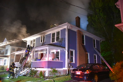 2 Alarm House Fire, 6 Lincoln Terrace, Meriden, CT - 5/15/20