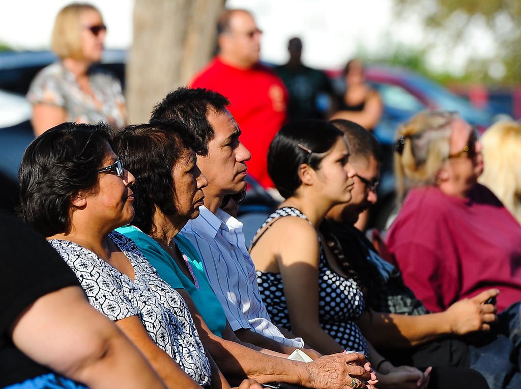 . A 9/11 remembrance ceremony is held at the Public Safety Academy in San Bernardino on Wednesday, Sept. 11, 2013. (Photo by Rachel Luna / San Bernardino Sun)
