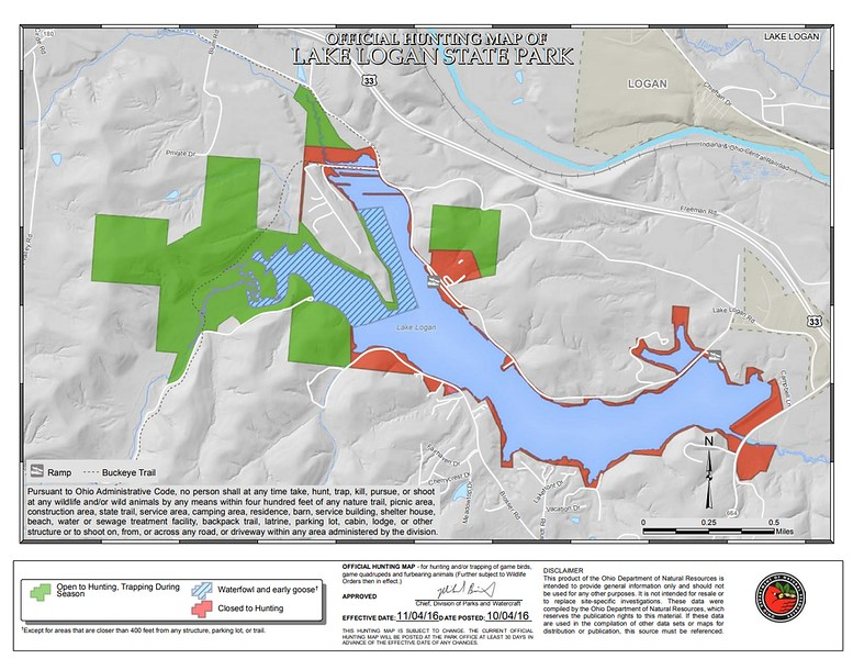 Lake Logan State Park (Hunting Map)