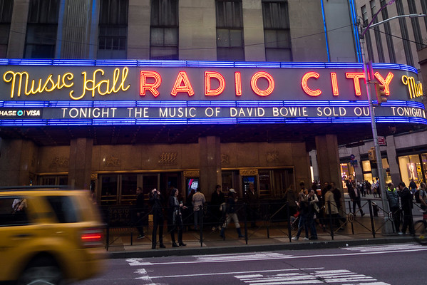 New York's a go-go – The Music of David Bowie Tribute/Memorial