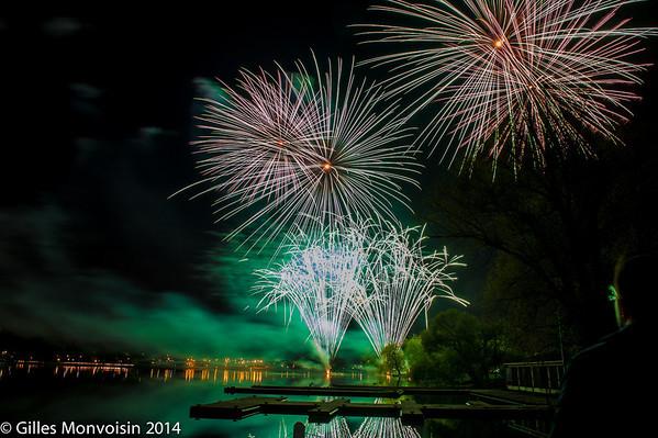 Tulip Festival Fireworks 2014
