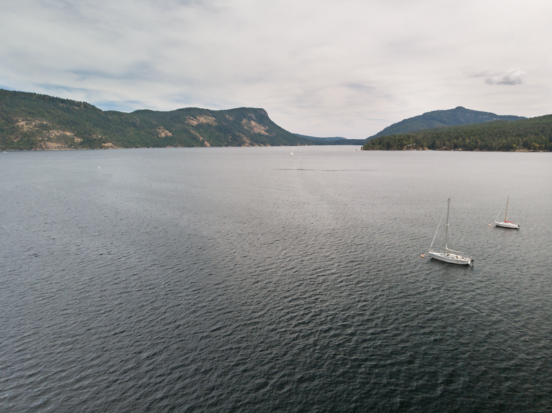 Aerial Drone Photography - Cowichan Valley, Vancouver Island, British Columbia, Canada