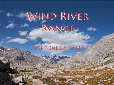 Wind River Range 2018