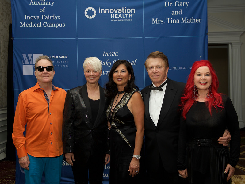 THE B-52'S W/ DR. GARY & MRS. TINA MATHER. MCLEAN, VIRGINIA. OCTOBER 2015