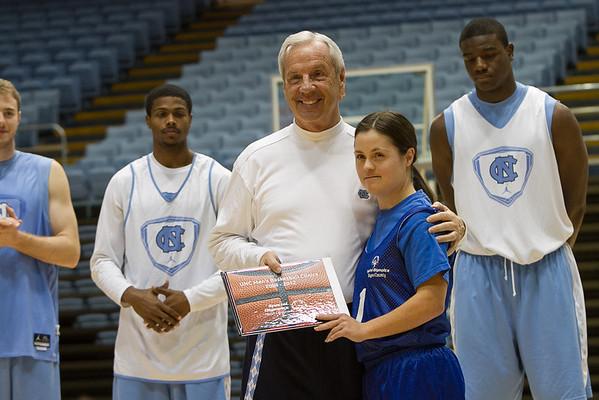 2013 UNC Basketball Clinic