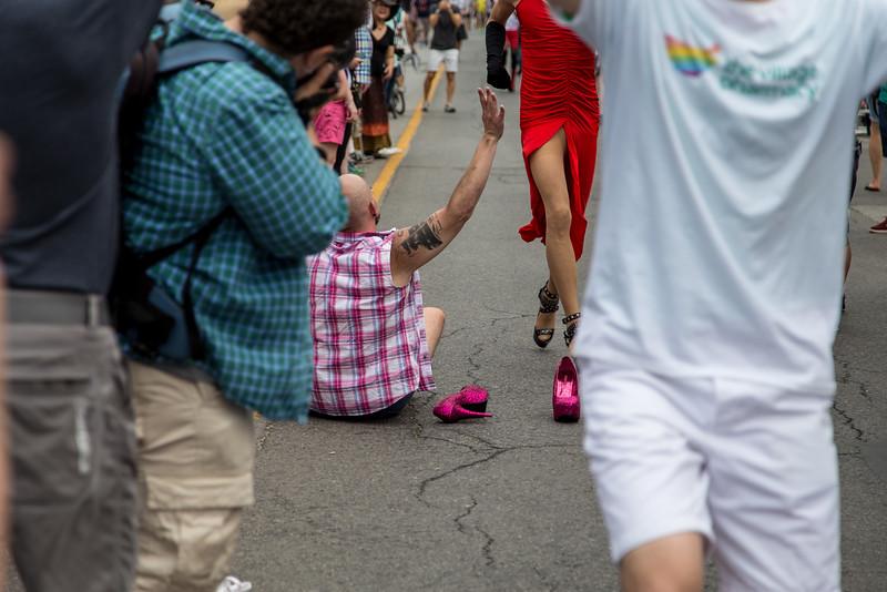 High Heel Strut Contest - The Race Down Church Street