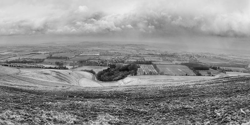 Uffington White Horse, Uffington Castle and Wayland's Smithy