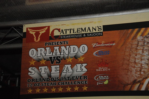 Orlando Vs Steak @ Cattlemans 11-11-09