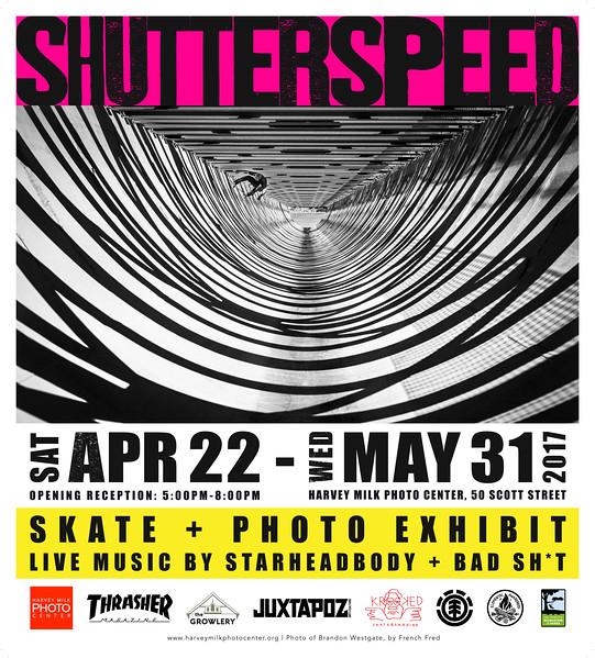 Shutterspeed - Poster - 36x40