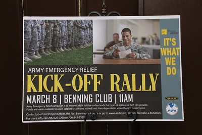 2019 Army Emergency Relief Campaign - Kick-Off Rally