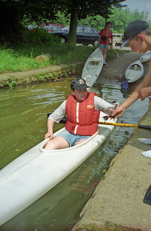 Kayaking at Tonbridge