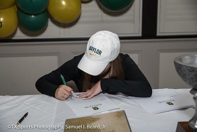 Tatum Richey Baylor Signing Ceremony