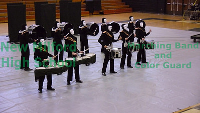 NMHS Winter Percussion at Trumbull High School, February 26, 2011