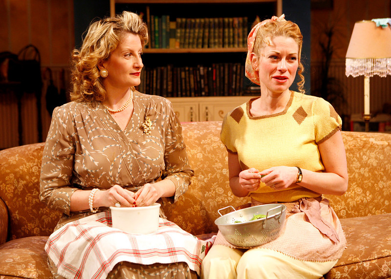 Judith Hawking and Angela Pierce in SOLDIER'S WIFE by Rose Franken 