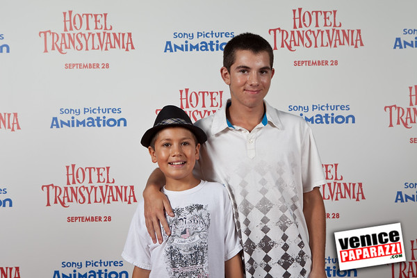 08.29.12  Hotel Transylvania movie screening  red carpet photos.