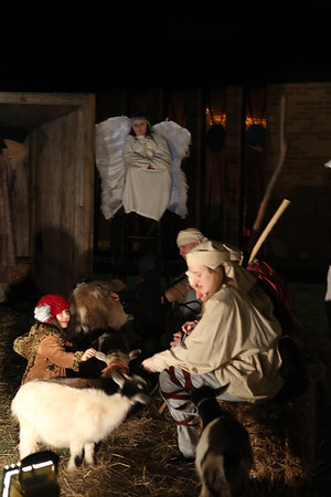 2011 Axe Memorial United Methodist Church Live Nativity