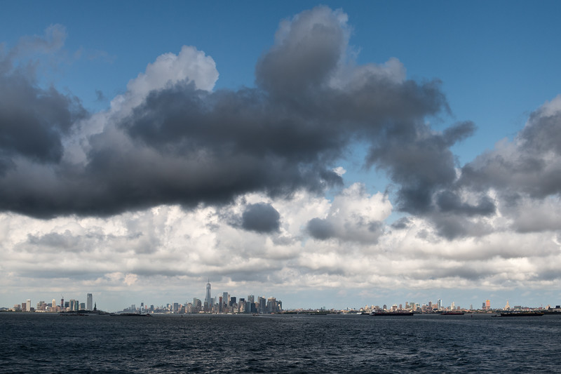 Jersey City, Manhattan & Brooklyn - Staten Island Ferry, New York, NY, USA - August 19, 2015