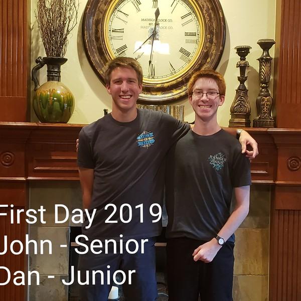John & Dan   12th grade & 11th grade   Vista Ridge High School