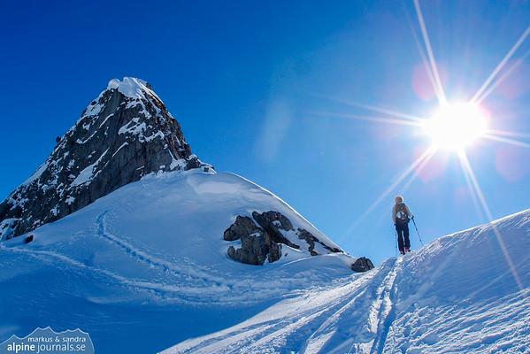 Weisser Schrofen ski tours