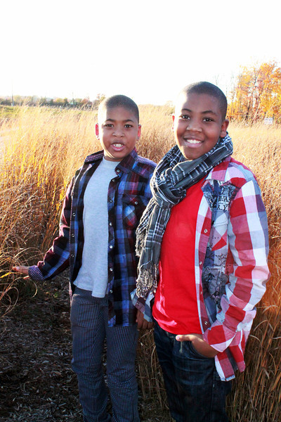 Jamari and Jaden Photo Shoot