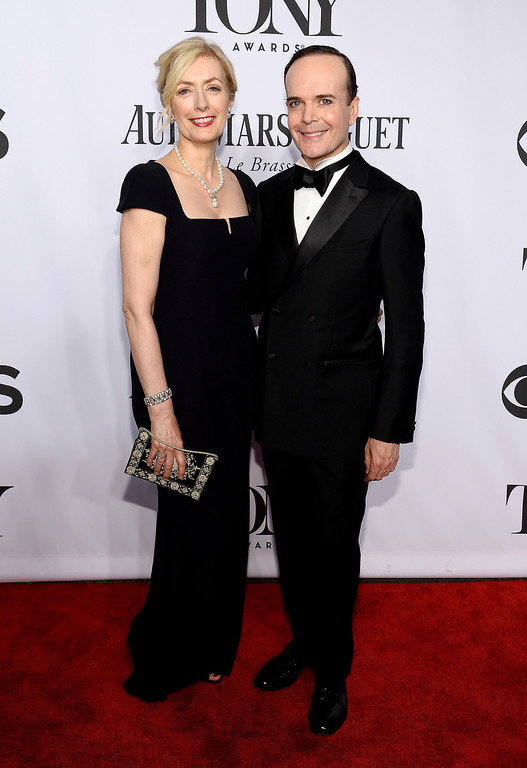 . Actress Susan Lyons (L) and actor Jefferson Mays attend the 68th Annual Tony Awards at Radio City Music Hall on June 8, 2014 in New York City.  (Photo by Dimitrios Kambouris/Getty Images for Tony Awards Productions)