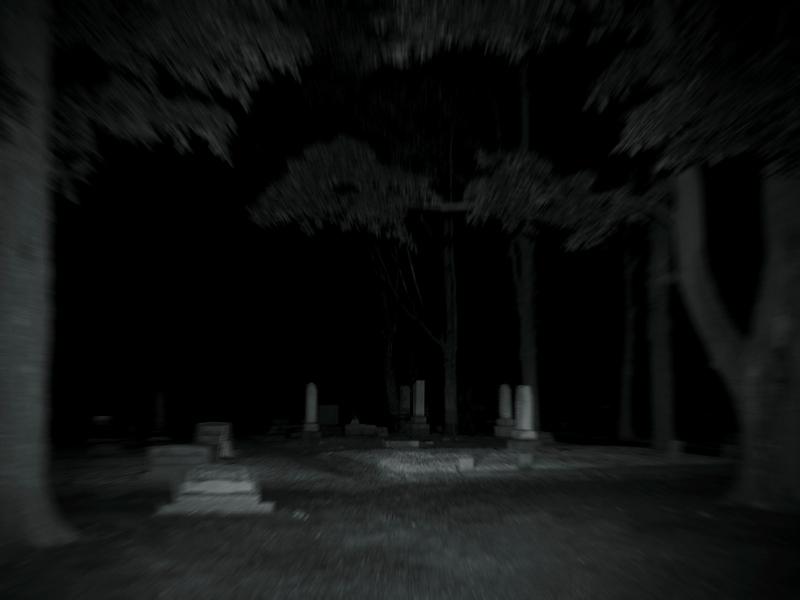 Midnight Gloomy Presence - by Marc VanderArk Exif data is embedded