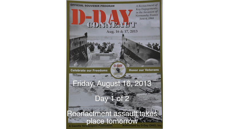 D-Day  (Day 1) Conneaut, OH