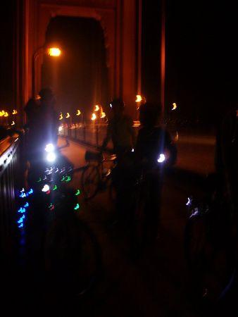 Meteors in Marin Bike Ride 2005-08-12