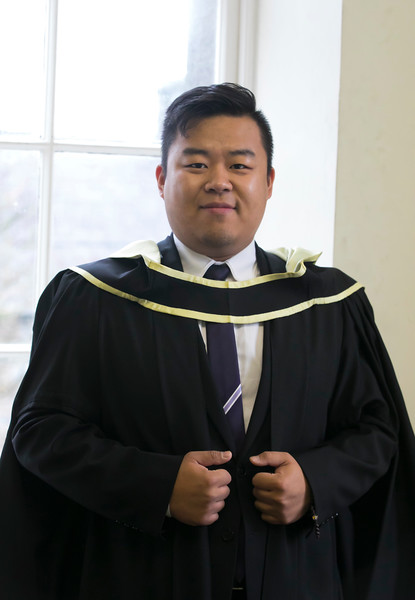 31/10/2018. Waterford Institute of Technology (WIT) Conferring Ceremonies 2018. Pictured is Peng cheng wei. Picture: Patrick Browne