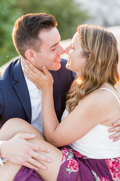 Kim and Jim's Engagement at the White Cliffs of Conoy