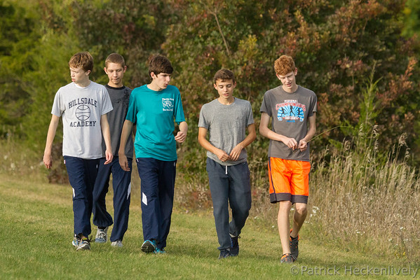 2015-10-07 Hillsdale Academy Junior High and Varsity Cross Country at Pittsford