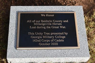 GMC Unity Tree ceremony