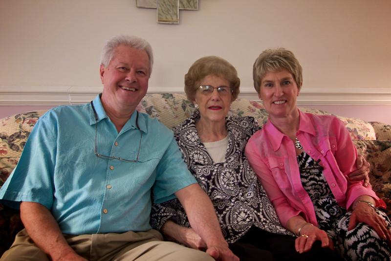 Jane, Jay and Donna; Warner Robbins, Georgia