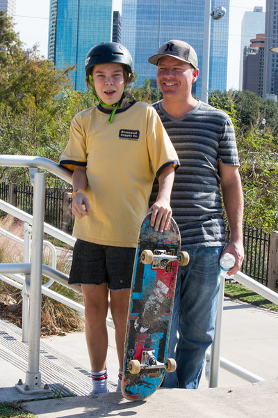 Nick and Zach - skate park
