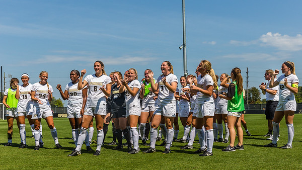 Purdue Soccer vs Indiana State 2017-8-27